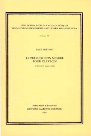 Le prélude non mesuré pour clavecin (France 1650-1700) - laflutedepan.com