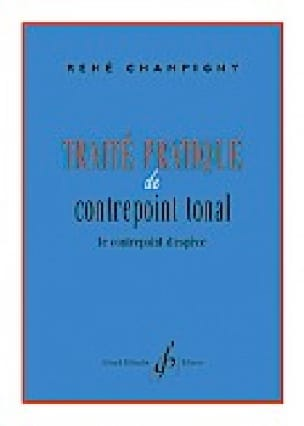 René CHAMPIGNY - Traité pratique de contrepoint tonal - Livre - di-arezzo.fr