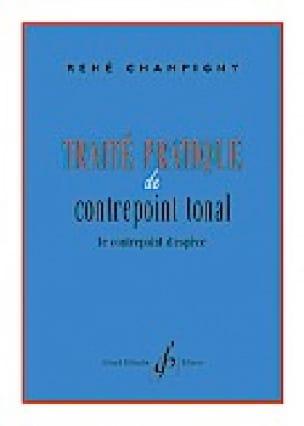 René CHAMPIGNY - Practical treatise of tonal counterpoint - Livre - di-arezzo.com