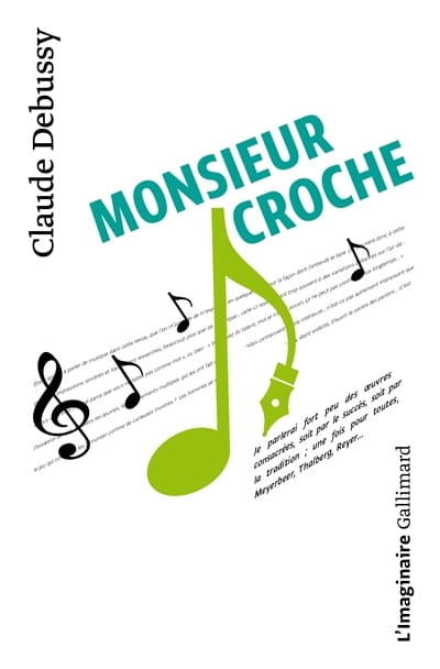 Claude DEBUSSY - Mr. Croche and other writings - Livre - di-arezzo.com