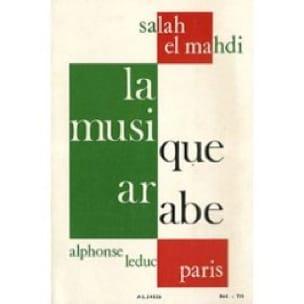 La musique arabe - EL MAHDI Salah - Livre - laflutedepan.com