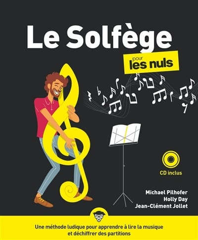 PILHOFER Michael / DAY Holly / JOLLET Jean-Clément - Music theory for dummies - Livre - di-arezzo.com