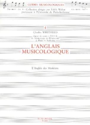 L'anglais musicologique - Charles WHITFIELD - Livre - laflutedepan.com