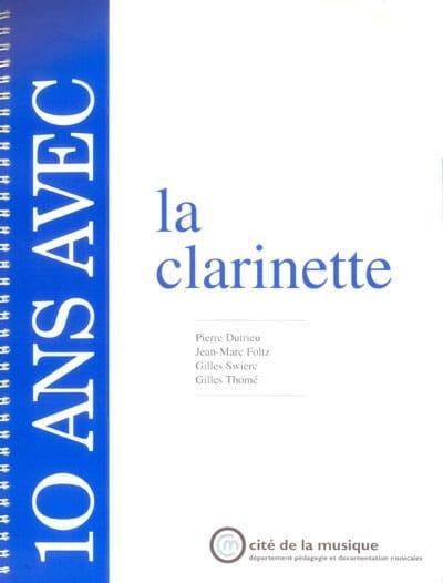 10 Ans Avec la Clarinette - Collectif - Livre - laflutedepan.com