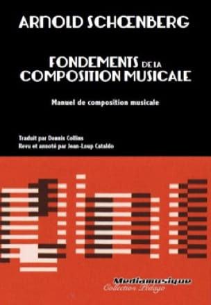 Arnold SCHOENBERG - Foundations of musical composition - Livre - di-arezzo.co.uk