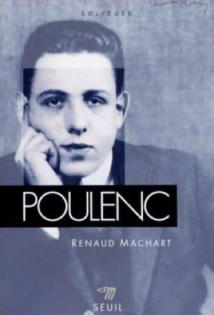 Poulenc - Renaud MACHART - Livre - Les Hommes - laflutedepan.com