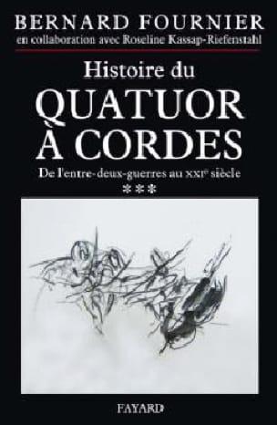 Histoire du quatuor à cordes, tome 3 - laflutedepan.com