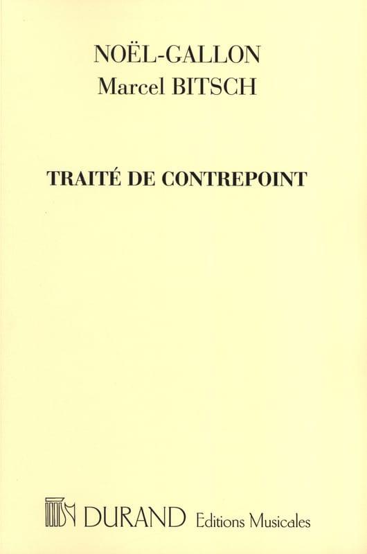 Traité de contrepoint - NOEL-GALLON / BITSCH Marcel - laflutedepan.com