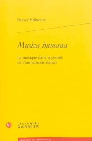Musica humana : la musique dans la pensée de l'humanisme italien - laflutedepan.com