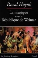 La musique sous la République de Weimar : musique et engagement laflutedepan.com