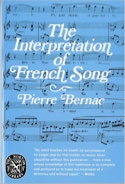 The Interpretation of French Song Pierre BERNAC laflutedepan.com