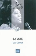La voix Guy CORNUT Livre Les Sciences - laflutedepan.com