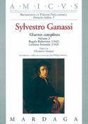 Oeuvres complètes Volume 2, Regola Rubertina (1572), Lettione Seconda (1543) - laflutedepan.com