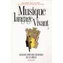 Musique langage vivant, vol. 3 Sabine BÉRARD Livre laflutedepan.com