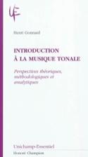 Introduction à la musique tonale Henri GONNARD Livre laflutedepan.com