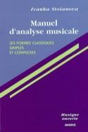 Manuel d'analyse musicale, vol. 1 : Les formes classiques simples et complexes laflutedepan.com