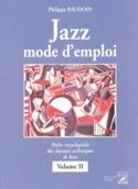 Jazz mode d'emploi, vol. 2 - Philippe BAUDOIN - laflutedepan.com