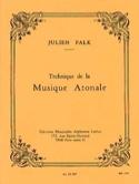 Technique de la musique atonale - Julien FALK - laflutedepan.com