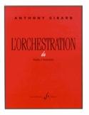 L'orchestration de Haydn à Stravinsky Anthony GIRARD laflutedepan.com