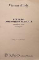 Cours de composition musicale : vol. 2, 2ème partie laflutedepan.com