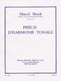 Précis d'harmonie tonale Marcel BITSCH Livre laflutedepan.com