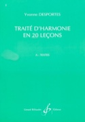 Traité d'harmonie en 20 leçons - A (Textes) laflutedepan.com