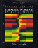 Workbook for harmonic practice in tonal music - laflutedepan.com