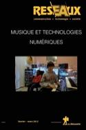 Réseaux, n° 172 Musique et technologies numériques laflutedepan.com