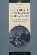 Le lamento dans l'Italie de la Renaissance - laflutedepan.com
