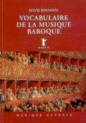 Vocabulaire de la musique baroque Sylvie BOUISSOU laflutedepan.com