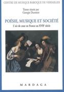 Poésie, musique et société : l'air de cour en France au XVIIe siècle laflutedepan.com