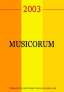 Musicorum, n° 2 (2003) - Revue - Livre - Revues - laflutedepan.com
