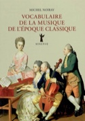 Vocabulaire de la musique de l'époque classique - laflutedepan.com