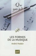 Les formes de la musique André HODEIR Livre laflutedepan.com