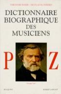 Dictionnaire biographique des musiciens Volume 3, P-Z laflutedepan.com