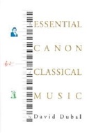 The essential canon of classical music - LIVRE D'OCCASION laflutedepan.com