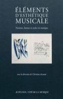 Eléments d'esthétique musicale ACCAOUI Christian dir. laflutedepan.com