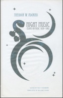 Night music : essays on music 1928-1962 laflutedepan.com