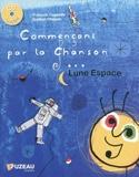 Lune espace COPPALLE François / CHAPON Gaëtan Livre laflutedepan.com