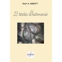 53 textes d'harmonie Alain ABBOTT Livre Harmonie - laflutedepan.com