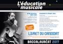 Education Musicale Baccalauréat 2017 Revue Livre laflutedepan.be