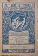 Encyclopédie de la Musique et dictionnaire du Conservatoire laflutedepan.com