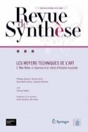 Revue de synthèse : Les moyens techniques de l'art - laflutedepan.com