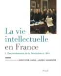 La vie intellectuelle en France, volume 1 laflutedepan.com