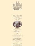 Association Maurice & Marie-Madeleine Duruflé : bulletin n° 15 (2015/2016) laflutedepan.com