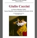 Le nuove musiche (1602) Giulio CACCINI Livre laflutedepan.com