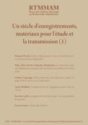 RTM n°4 : Un siècle d'enregistrements, matériaux pour l'étude et la transmission - laflutedepan.com