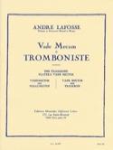 Vade Mecum du tromboniste André LAFOSSE Livre laflutedepan.com