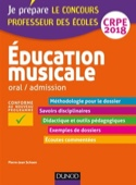 Education musicale : oral-admission, CRPE 2018 - laflutedepan.com