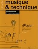 Musique & technique, n°1 COLLECTIF Livre laflutedepan.com
